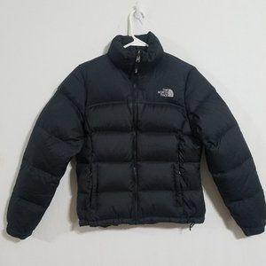 North Face Womens Small Black 96 Retro Nuptse Puffer Jacket 700 Down Puff Coat